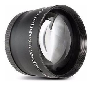 Lente Para Canon Telefoto Alta Definicion 58mm Envio Gratis