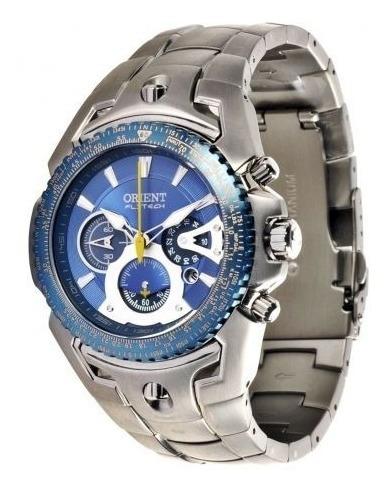 Relógio Orient Flytech Masculino Titânio Mbttc006 D1sx