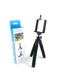 Tripé Selfie Flexi Pod Para Câmera Celular Pés Modeláveis