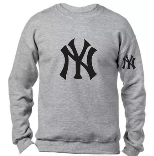 Imagen 1 de 1 de Sudadera Sueter Yankees De New York Ny