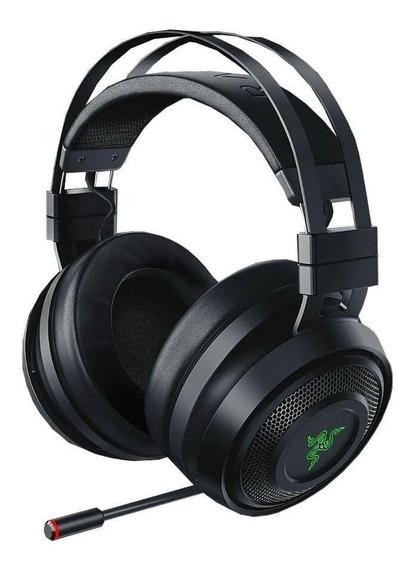 Fone de ouvido sem fio Razer Nari preto