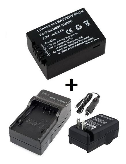 Bateria Dmw-bmb9e + Carregador P/ Panasonic Fz150 Fz100 Fz70