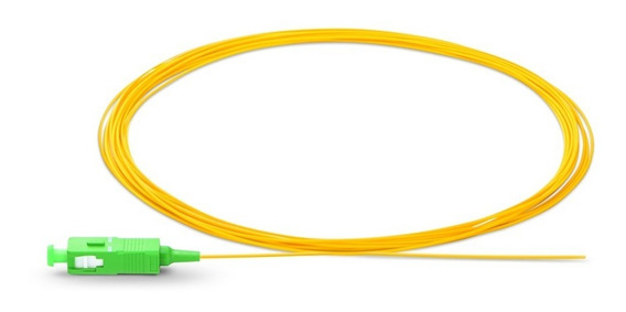 Pigtail Fibra Óptica Sc/apc 0.9mm G657 Simple 3 Mt Singlemo