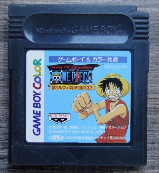 One Piece: Yume No Luffy Kaizokudan Tanjou - Game Boy Color
