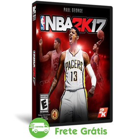 Nba 2k17 Pc + Update 1 Mídia Física ( Dvd )