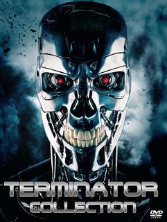 Terminator Coleccion Dvd Latino
