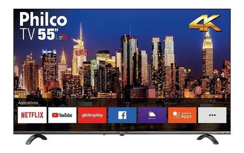 Imagem 1 de 1 de 5x Smart Tv Philco Ptv55q20snbl Dled 4k 55 110v/220v