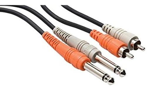 Imagen 1 de 1 de Hosa Cpr-203 Dual 14 Ts A Cable De Interconexion Estereo D