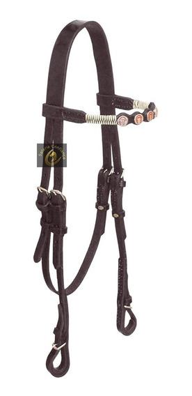 Cabeçada Artesanal Para Cavalo Mangalarga Luxo Especial