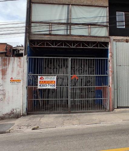 Imagem 1 de 6 de Ponto Para Alugar, 100 M² Por R$ 3.000,00/mês - Arraial Paulista - Taboão Da Serra/sp - Pt0010