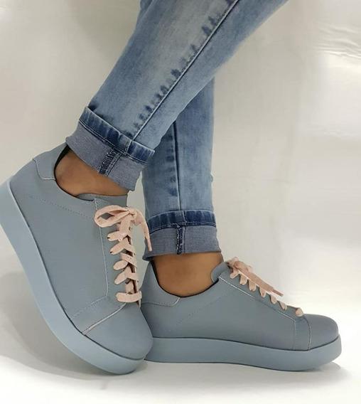 Zapatillas Mujer Urbanas Livianas Y Comodas Primavera Emily