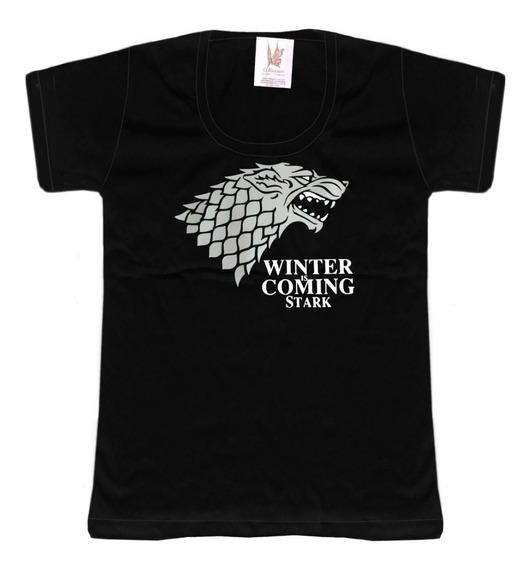 Remera Game Of Thrones Stark Estampado Vinilo Oferta