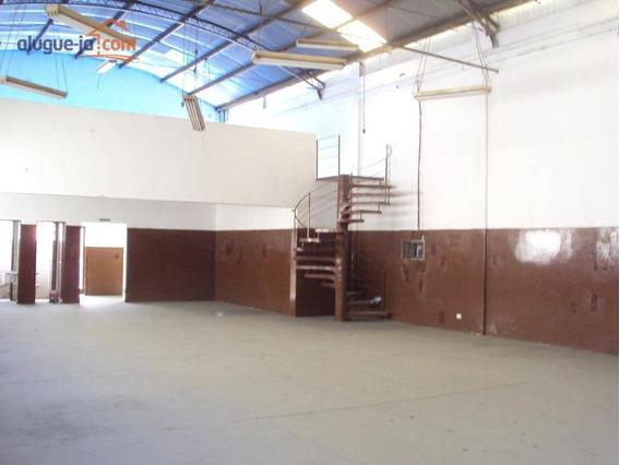 Excelente Galpão Comercial Para Locação, Jardim Vale Do Sol, São José Dos Campos. - Ga0136