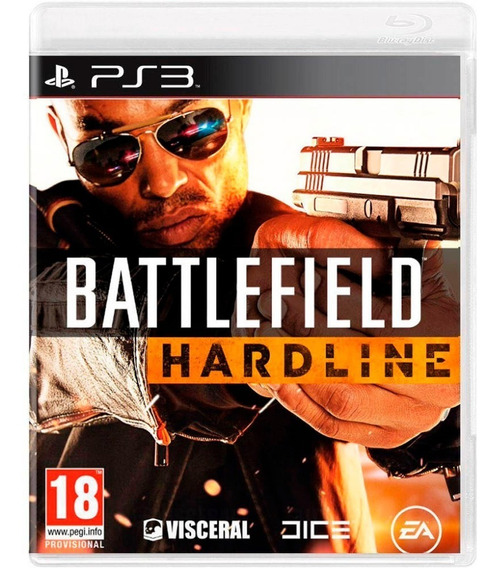 Battlefield Hardline Ps3 Mídia Física Novo Lacrado