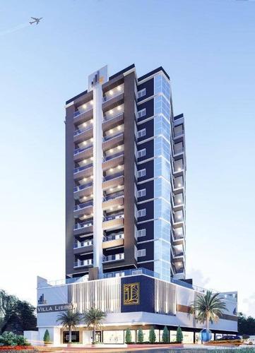 Apartamento Com 2 Dormitórios À Venda, 81 M² Por R$ 567.700,00 - Meia Praia - Itapema/sc - Ap0325