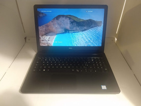 Notebook Dell 5566 Intel Core I5-7200u 4gb Ddr4 Ssd 240 Gb