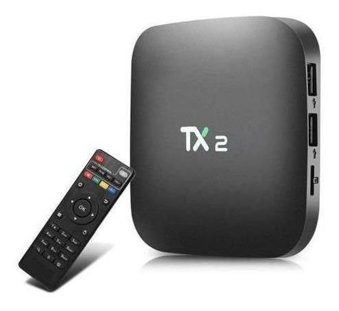 Smart Tv Box Tx2 2gb Ram 16gb Room Bluetooth Top Garantia Nf