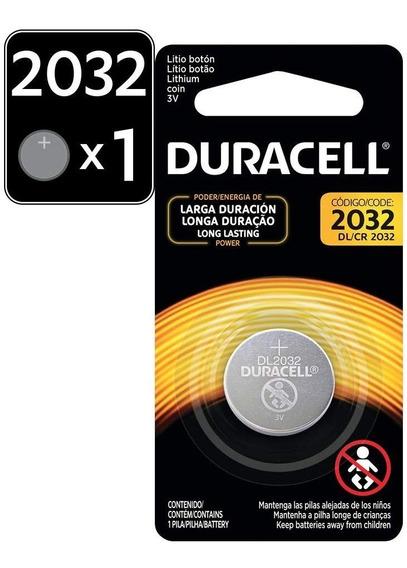 Duracell Cr2032 Pila De Botón De Litio De 3 V, 1 Unidad