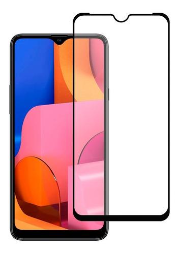 Mica De Cristal Templado 10d 9d Marco Negro Modelos Samsung