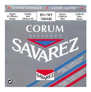 Encordado Guitarra Clasica Savarez 500 Arj Corum Alliance