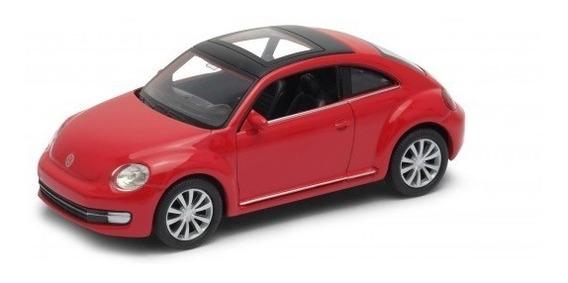 Auto Welly Volkswagen New Beetle Colección Escala 1:36