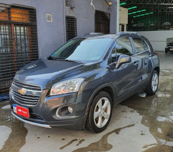 Chevrolet Tracker 2017 Ltz Automatica Gris Oscuro 4x4