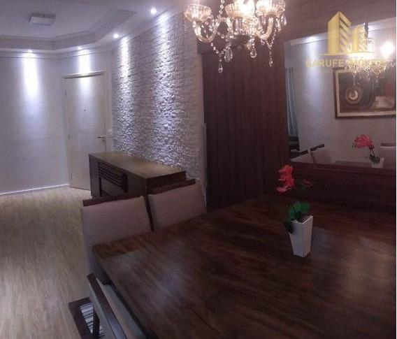 Apartamento Com 3 Dormitórios À Venda, 90 M² Por R$ 410.000,00 - Jardim Satélite - São José Dos Campos/sp - Ap1762