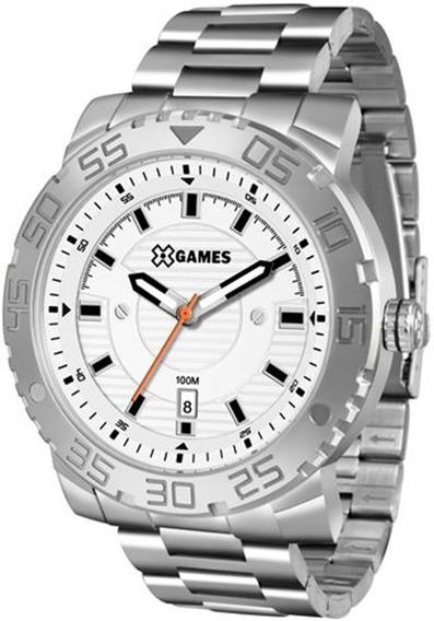 Relógio X-games Masculino Xmss1039-s2sx Analógico Aço