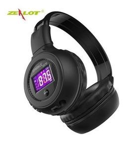 Fone Zealot B570 Bluetooth Radio Fm Memoria Microsd Headfone