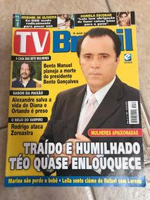 Revista Tv Brasil 163 Tony Ramos Suzana Vieira Ano 2003