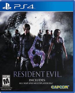 Resident Evil 6 Ps4 Fisico Sellado Nuevo Original