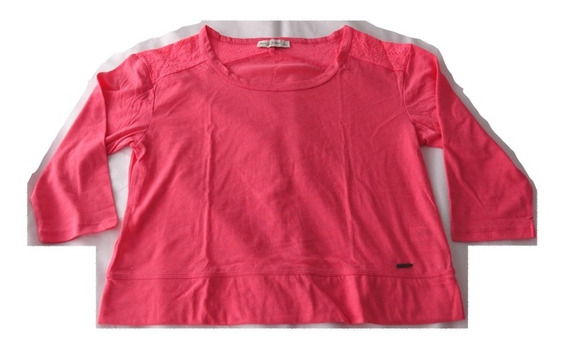 Remera Abercrombie & Fitch Talle S Rosa