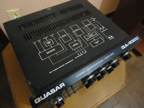 Amplificador Quasar P/ Gradiente,polyvox,sansui,marantz,mast