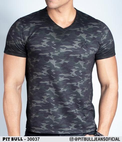 Camiseta Masculina Pit Bull Jeans Original ( Pronta Entrega)