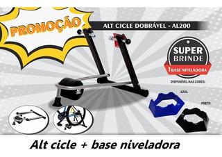 Rolo De Treino Livre Alt Cicle Al-200 + Base Niveladora