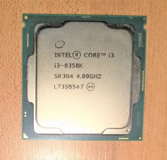 Processador Intel Core I3 8350k 4.0 Ghz 8ª Geração Lga1151