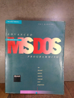 L2814 Ray Duncan Advanced Msdos Programming Second Edition