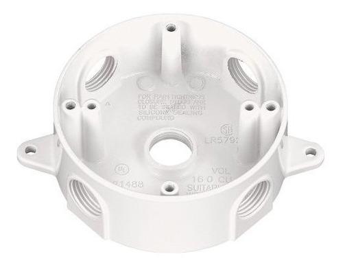 Sigma Electric 14385475wh 34inch Caja Redonda De 5 Orificios