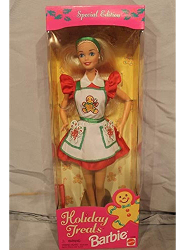Barbie Holiday Trata La Muñeca De Edicion Especial (1997)