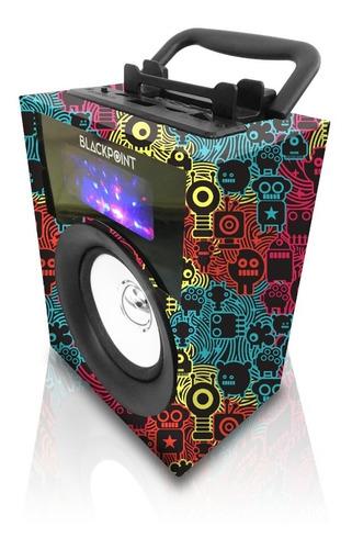 Parlante Portatil Bluetooth Bateria Interna Radio Fm Usb Sd