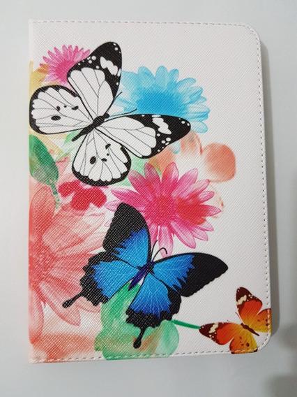 Capa Estilo Livro Borboletas Kindle Paperwhite Cartão Pelicu