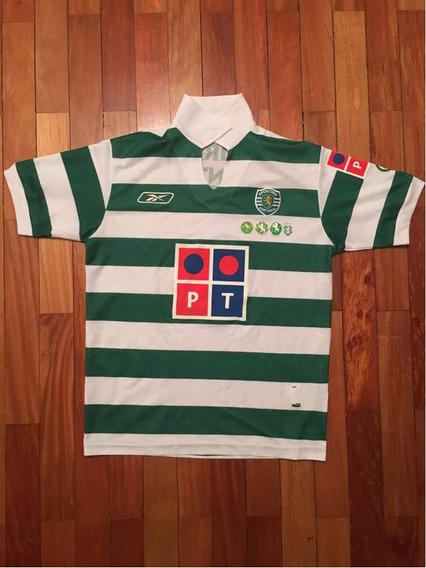 Camiseta Sporting 2006 Centenário Original Infantil