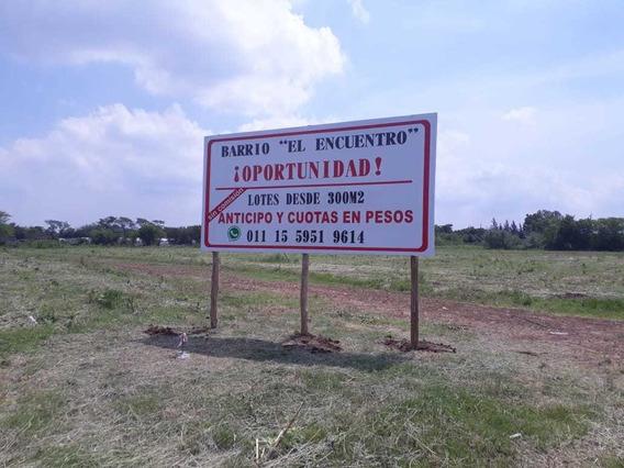 Terreno Lote En Venta En Escobar Anticipo Y Cuotas En Pesos