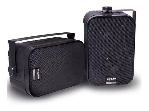 Caixa De Som Ambiente Ll Audio Sp400 Preta-60w Rms (par)