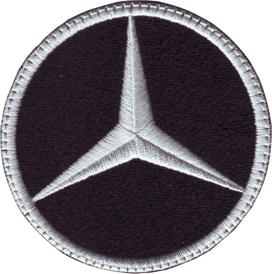 Mercedes Benz Carros Parches Bordados 7.5 Cm Para Coser