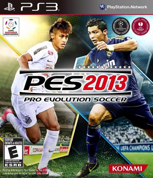 Pro Evolution Soccer 2013 Pes 13 - Ps3 - (novo Lacrado)