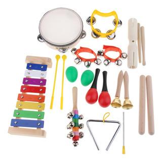 1 X Conjunto De Instrumentos Musicales De Niños Fijaron
