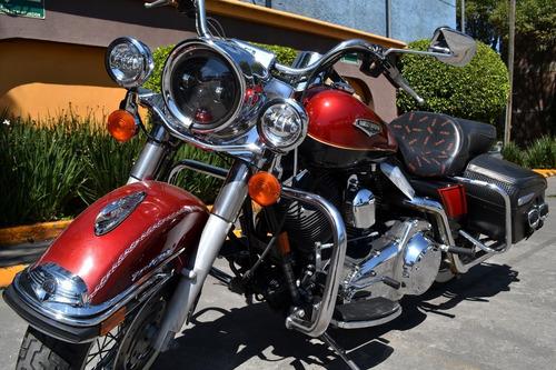 Imagen 1 de 15 de Impecable Harley Road King 1584cc Muy Llamativa 6 Vel.