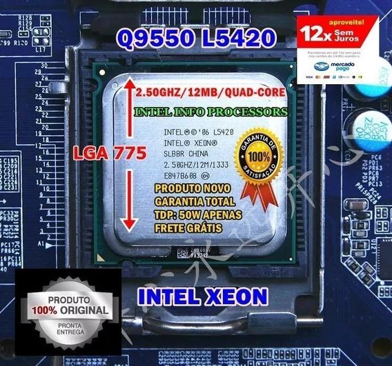 Processador Intel Core 2 Quad Q9550 Xeon L5420 Lga 775