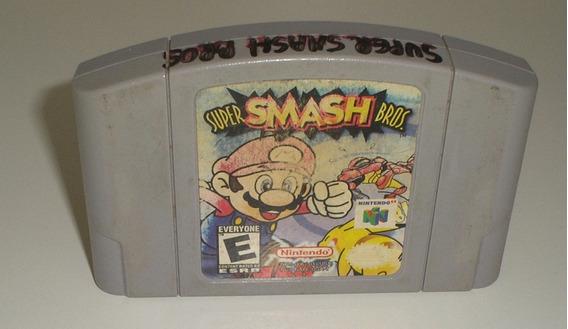Super Smash Bros. Nintendo 64 Original Americana Usada